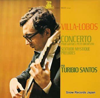 SANTOS, TURIBIO concerto pour guitare & petit orchestre