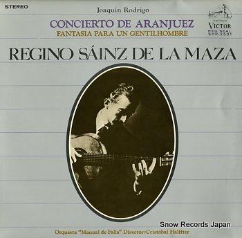 SAINZ DE LA MAZA, REGINO rodrigo; concierto de aranjuez