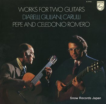 PEPE AND CELEDONIO ROMERO works for two guitars