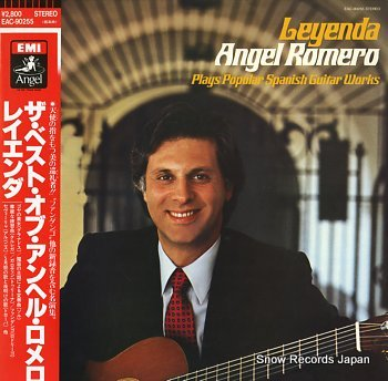 ROMERO, ANGEL leyenda; the best of
