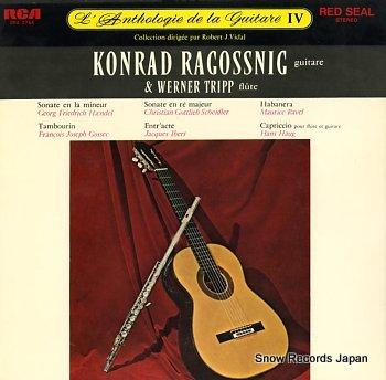 RAGOSSNIG, KONRAD l'anthologie de la guitare iv