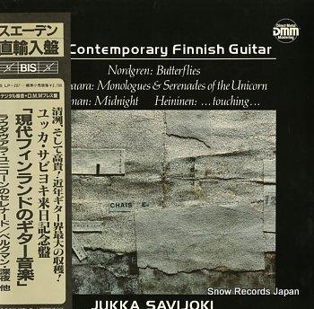 SAVIJOKI, JUKKA contemporary finnish guitar