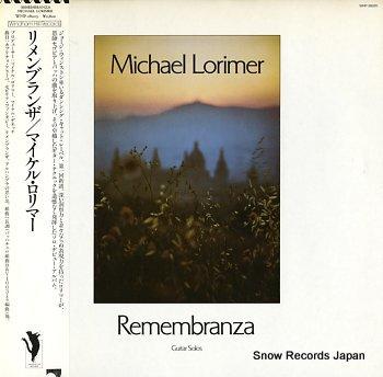 RORIMER, MICHAEL remembranza