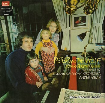 PREVIN, ANDRE prokofiev; peter and the wolf, op.67