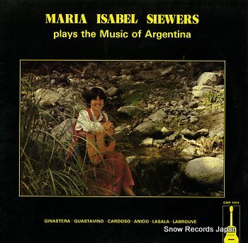 SIEWERS, MARIA LSABEL plays the music of argentina