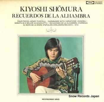 SHOMURA, KIYOSHI recuerdos de la alhambra