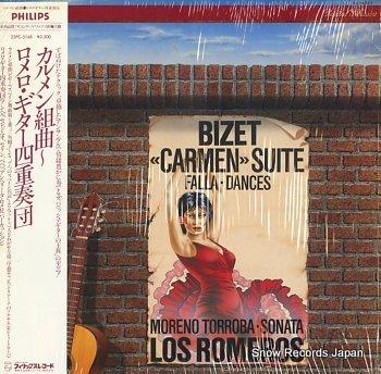 LOS ROMEROS bizet; carmen suite falla dances