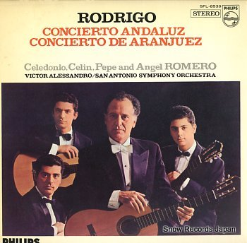 CELEDONIO, CELIN, PEPE AND ANGEL ROMERO rodrigo; concierto andaluz