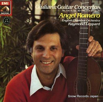ANGEL, ROMERO giuliani, mauro; guitar concertos nos.1&3