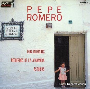 ROMERO, PEPE jeux interdits recuerdos de la alhambra asturias
