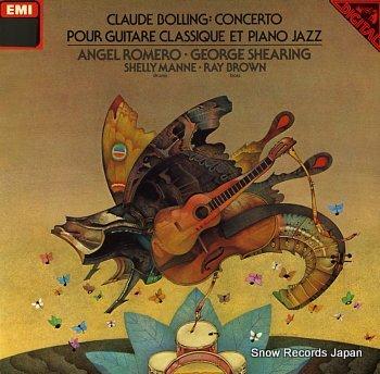 ROMERO, ANGEL bolling, claude, concerto pour guitaew classique et piano jazz