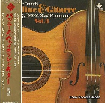 TEREBESI, GYORGY / SONJA PRUNNBAUER paganini; violin&guitar vol.3