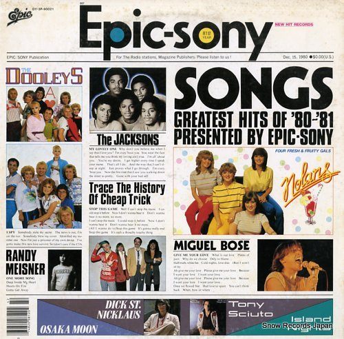 V/A songs, greatest hits of '80-'81