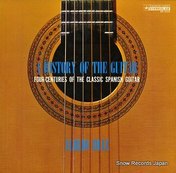 DIAZ, ALIRIO history of the guitar, a