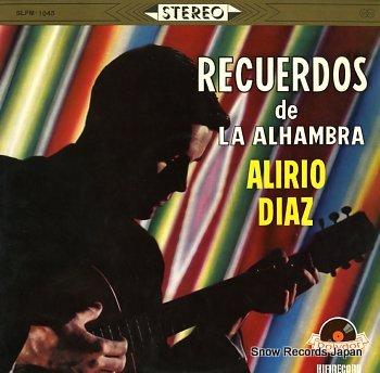 DIAZ, ALIRIO recuerdos de la alhambra