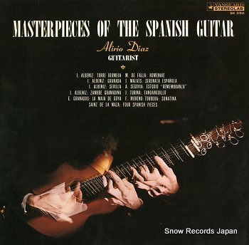 DIAZ, ALIRIO master pieces of the spanish guitar