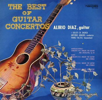 DIAZ, ALIRIO best of guitar concertos, the