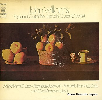 WILLIAMS, JOHN haydn; guitar quartet