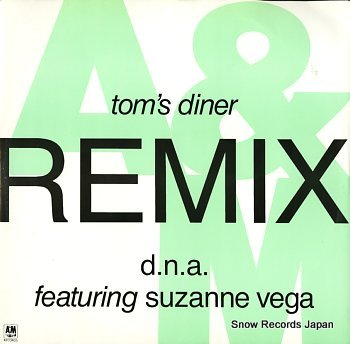 D.N.A. FEATURING SUZANNE VEGA tom's diner