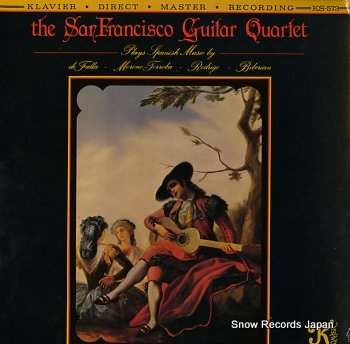 SANFRANCISCO GUITAR QUARTET, THE s/t