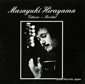HIRAYAMA, MASAYUKI gitarre recital