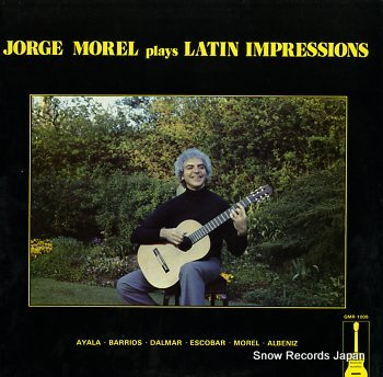 MOREL, JORGE plays latin impressions