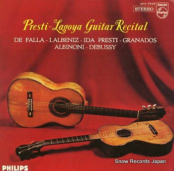LAGOYA, ALEXANDRE guitar recital