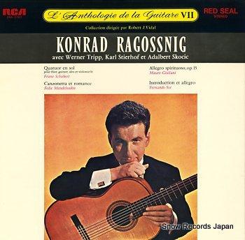 RAGOSSNIG, KONRAD l'anthologie de la guitare vii