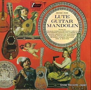 V/A music for lute guitar mandolin