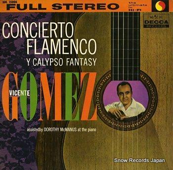 GOMEZ, VICENTE concierto flamenco
