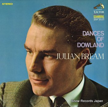 BREAM, JULIAN dances of dowland