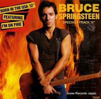 SPRINGSTEEN, BRUCE born in the usa