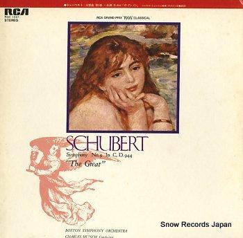 MUNCH, CHARLES schubert/the great