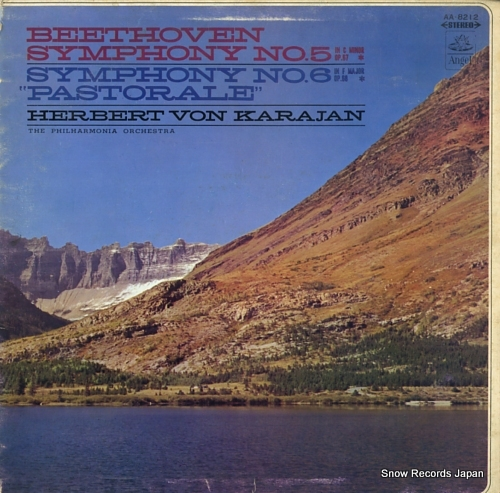 KARAJAN, HERBERT VON beethoven; symphony no.5 no.6