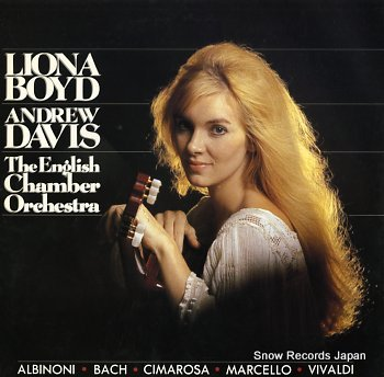 BOYD, LIONA liona boyd / andrew davis / the english chamber orchestra