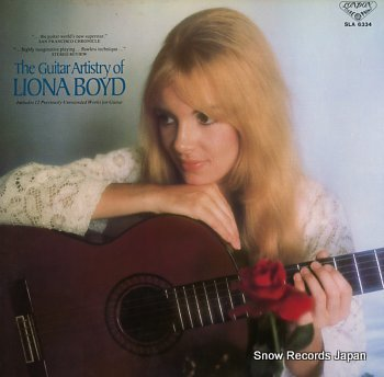 BOYD, LIONA guitar artistry, the