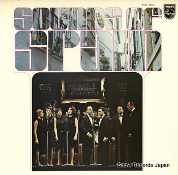 SWINGLE SINGERS, THE sounds of spain
