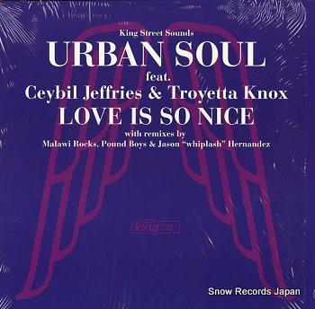 URBAN SOUL love is so nice