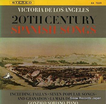 ANGELES, VICTORIA DE LOS 20th century spanish songs