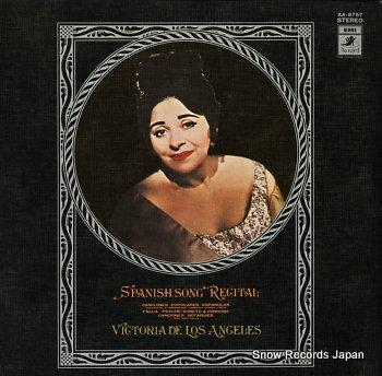 ANGELES, VICTORIA DE LOS spanish song recital