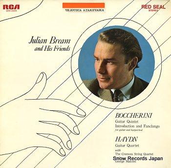 BREAM, JULIAN boccherini; guitar quintet