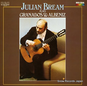 BREAM, JULIAN granados & albeniz