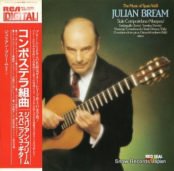BREAM, JULIAN musc of spain vol.8, the / suite compostelana