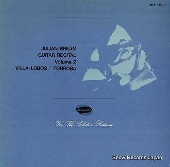 BREAM, JULIAN guitar recital volume 2