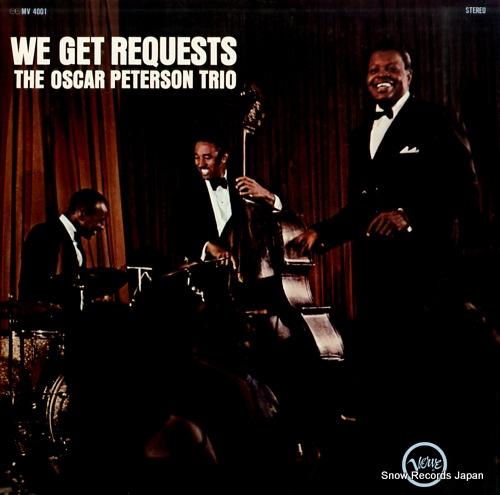 PETERSON, OSCAR we get requests