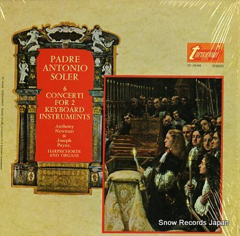 NEWMAN, ANTHONY padre antonio soler; 6concerti for 2 keyboard instruments