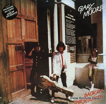 MOORE, GARY back on the streets