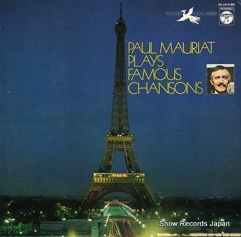 MAURIAT, PAUL plays famous chansons