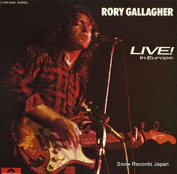 GALLAGHER, RORY live in europe