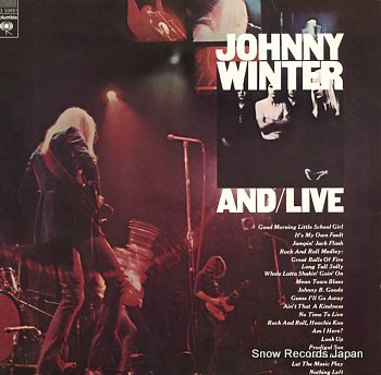WINTER, JOHNNY and/live
